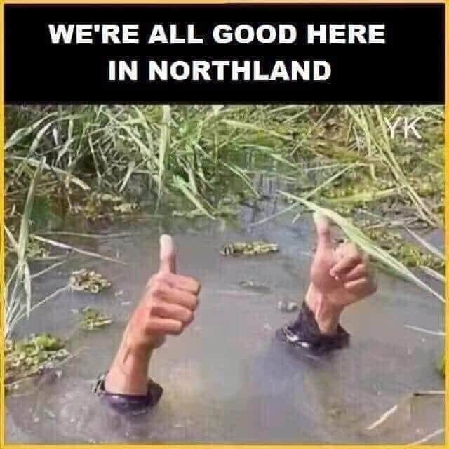 Flooding in Northland Funny