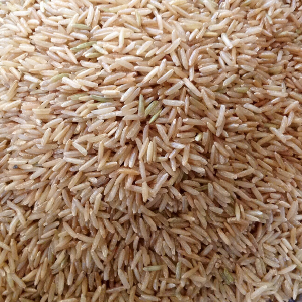 Basmati rice brown