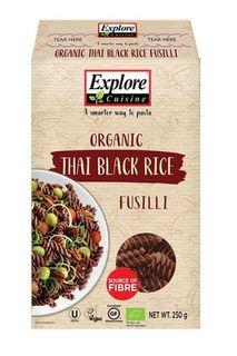Black Rice fusilli