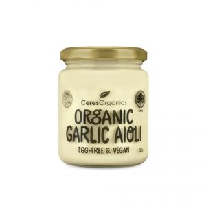Ceres Organics Garlic Aoli