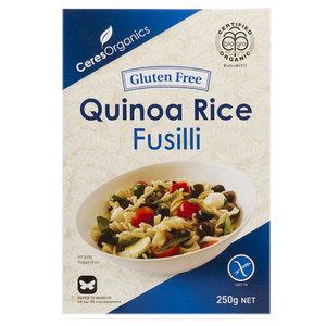 fusilli rice quinoa