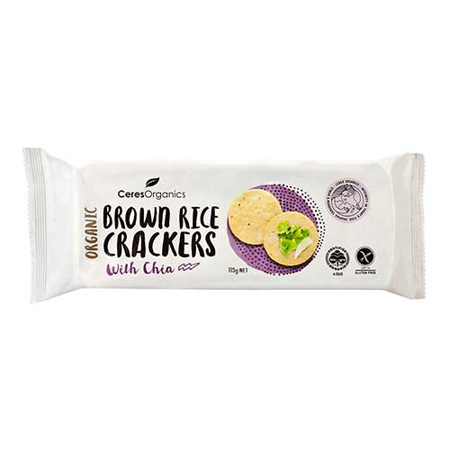 rice crackers chia