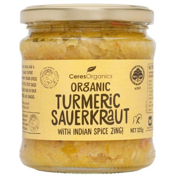 turmeric sauerkraut
