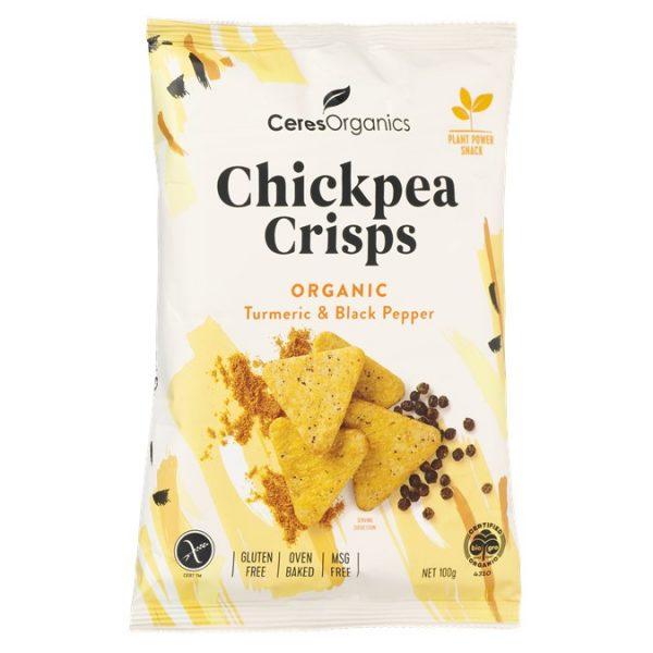Chickpea Crisps